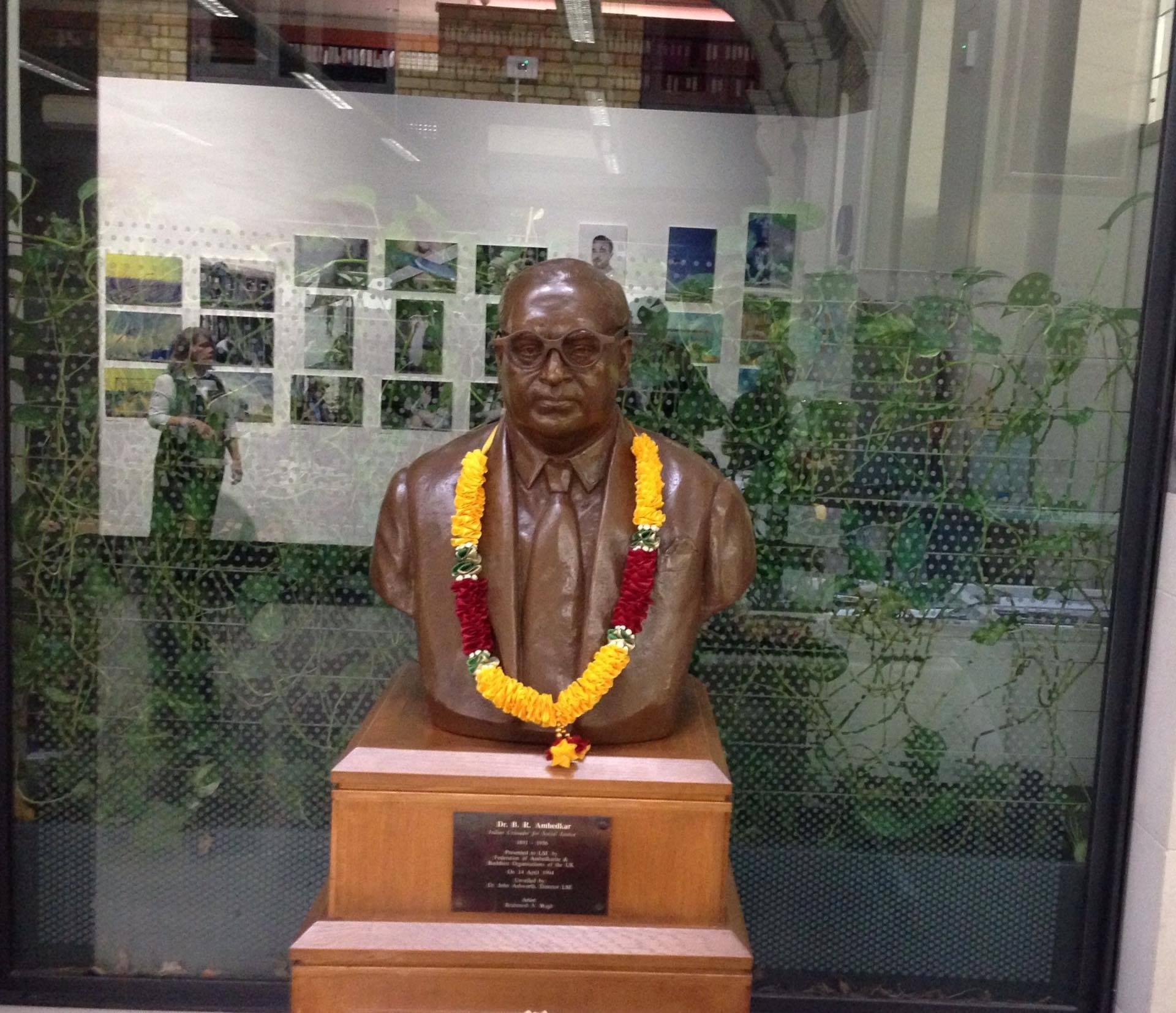 Ambedkar statue LSE