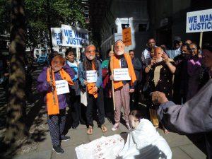 Protesting Modi